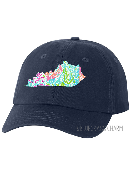 Youth Preppy Patterned State Pride Hat