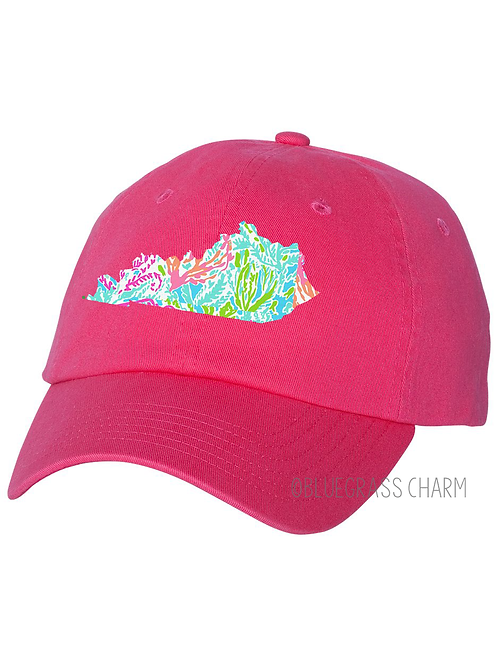 Preppy Patterned State Pride Hat