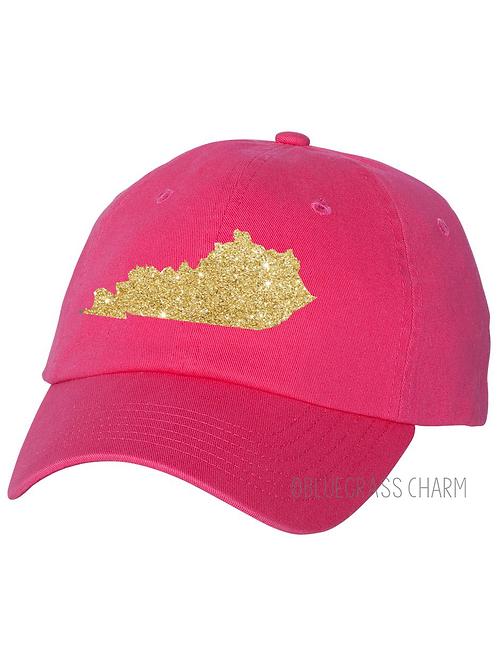 Glitter State Pride Hat