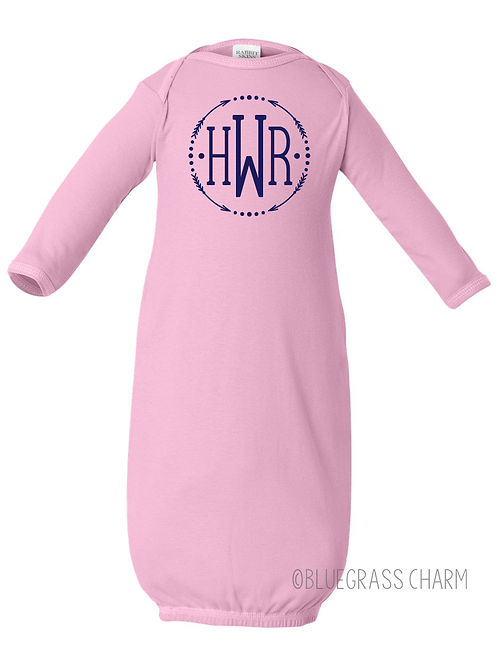 Charmed Arrow Baby Gown