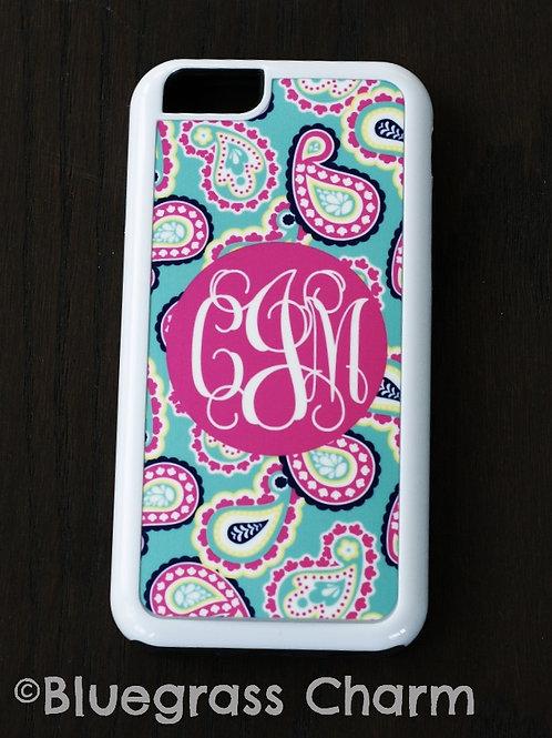 cJm Paisley Monogram iPhone 6 Case