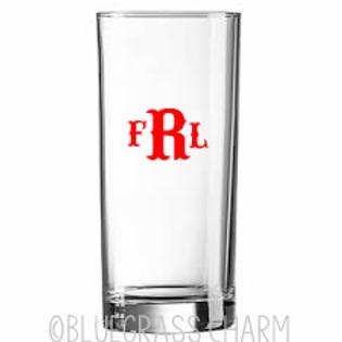 Monogram Pint Glass