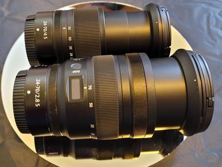 Nikkor Z 24-70 F4 Vs. Nikkor Z 24-70 F2.8 Experiences