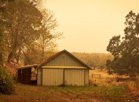 Western Wildfire Lighting