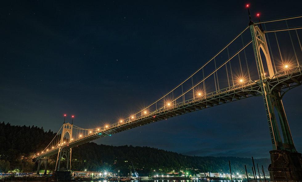 St. Johns at Night