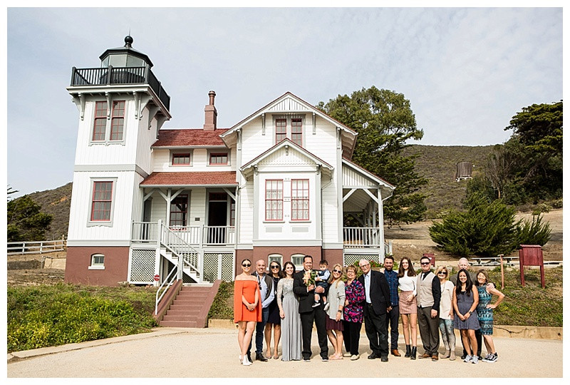Whole Wedding at Point San Luis Lighthouse Wedding