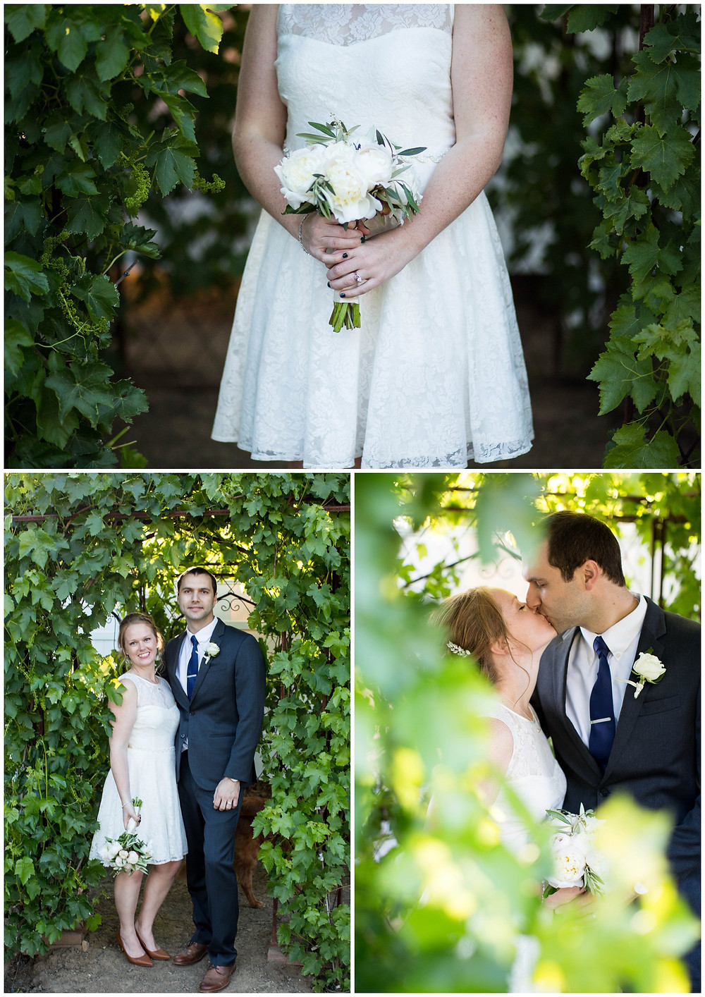Surprise Wedding | Atascadero Wedding Photographer | Couple Portraits