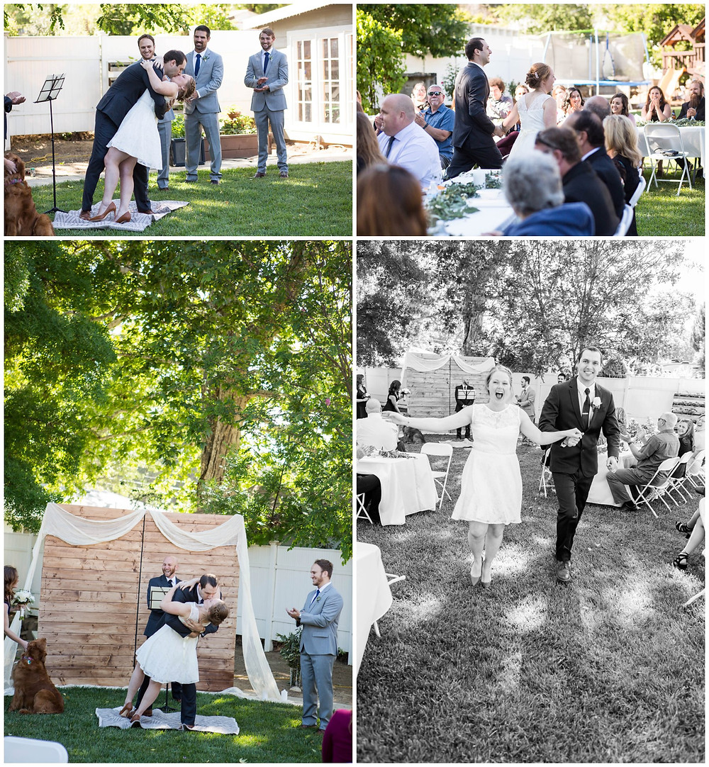 Surprise Wedding | Atascadero Wedding Photographer | The Ceremony