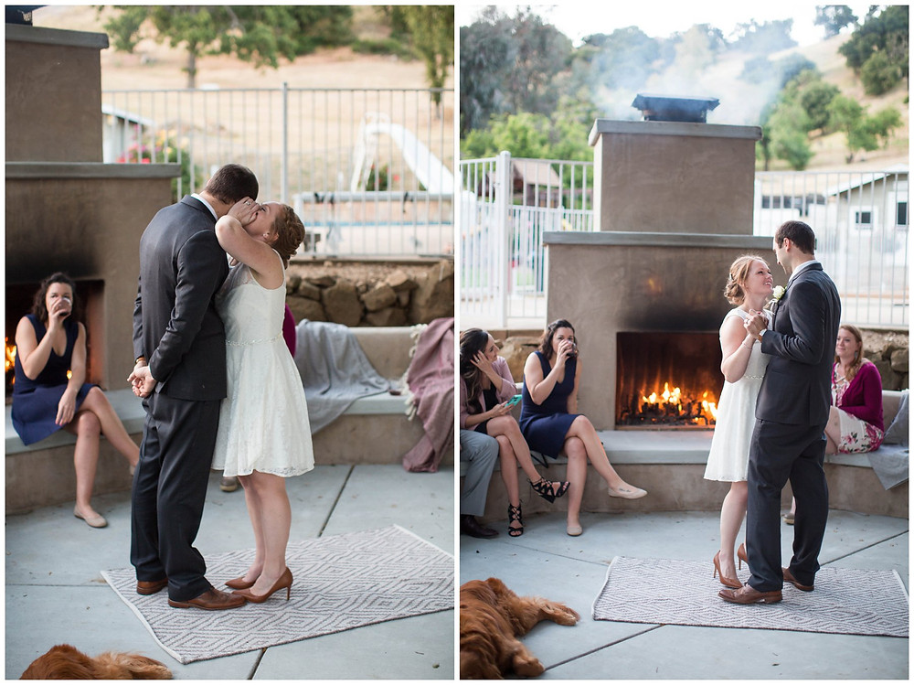 Surprise Wedding | Atascadero Wedding Photographer | First Dance