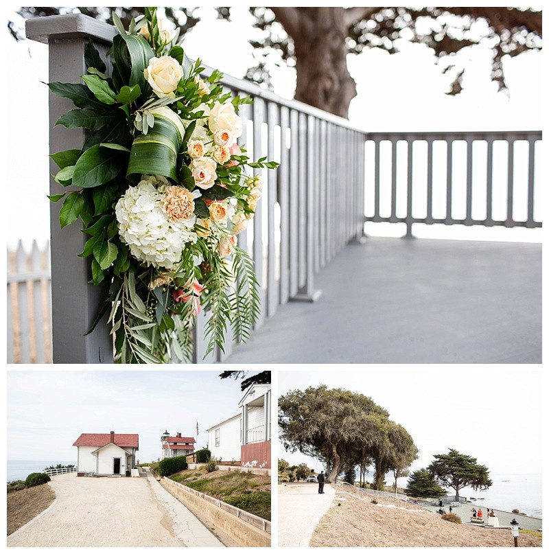 Point San Luis Lighthouse Intimate Wedding in Avila