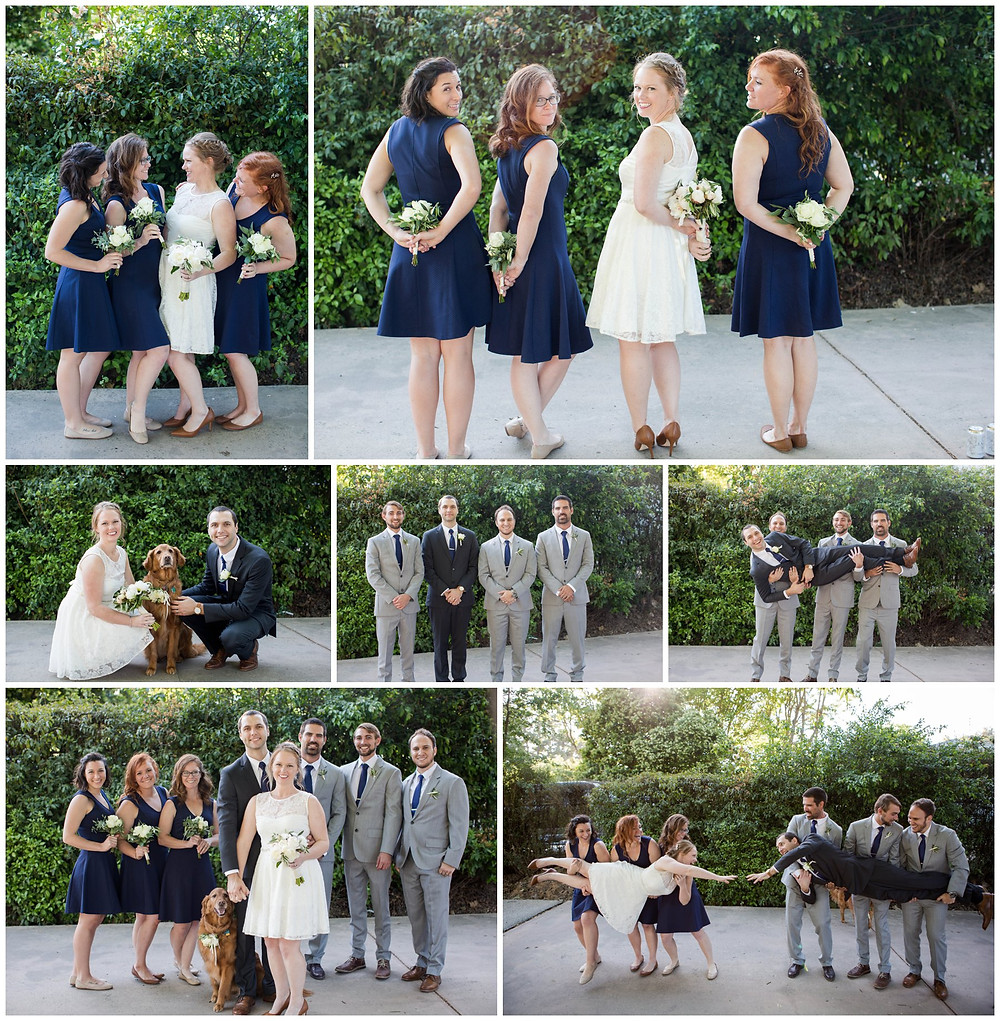 Surprise Wedding | Atascadero Wedding Photographer | Bridal Party