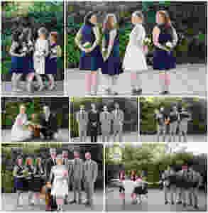 Surprise Wedding | Atascadero Wedding Photographer | Bridal Party
