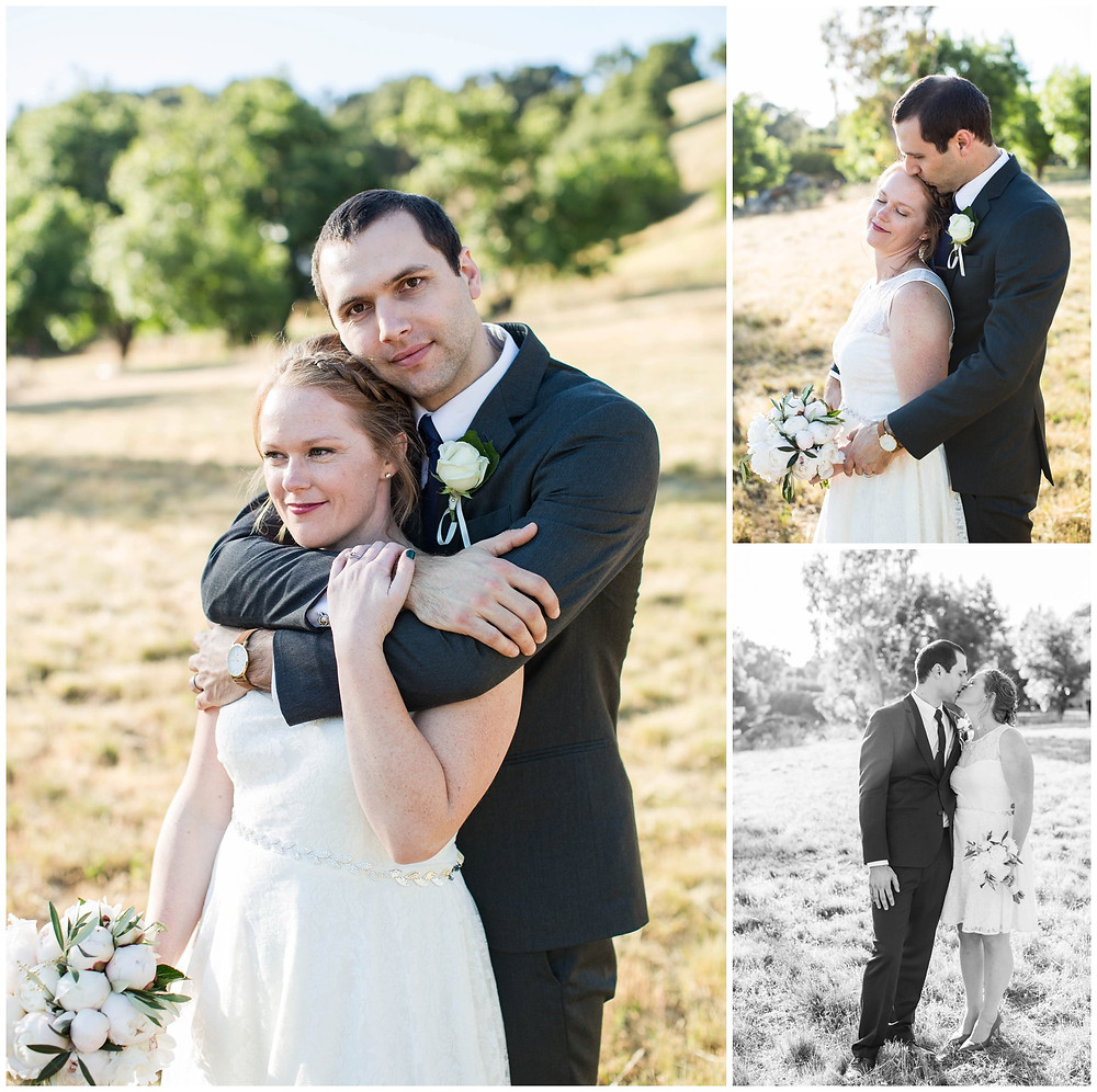 Surprise Wedding | Atascadero Wedding Photographer | Bride and Groom Portraits