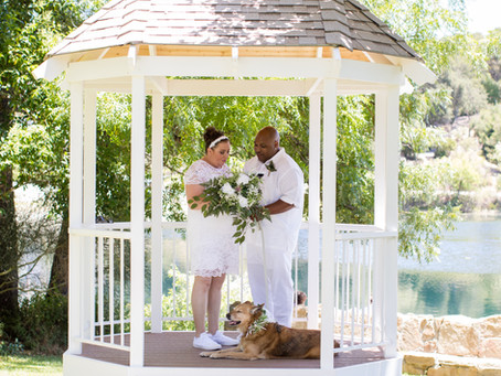 Atascadero Lake Elopement Wedding Photography