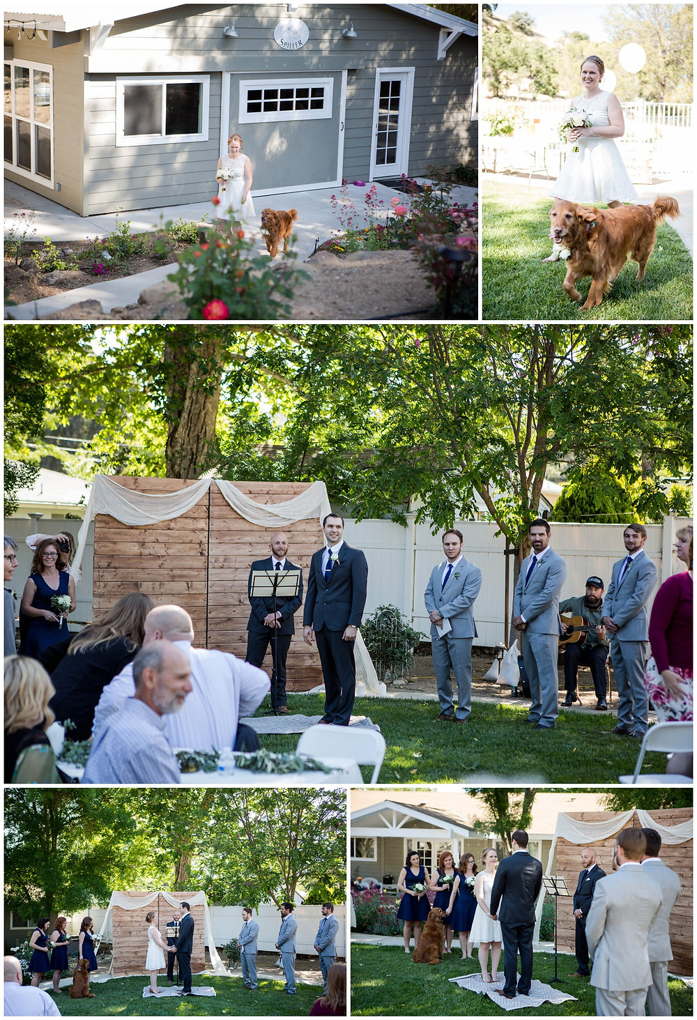 Surprise Wedding | Atascadero Wedding Photographer |The Ceremony