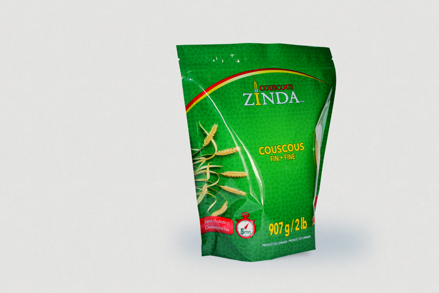 Zinda-Couscous // Stand up pouch