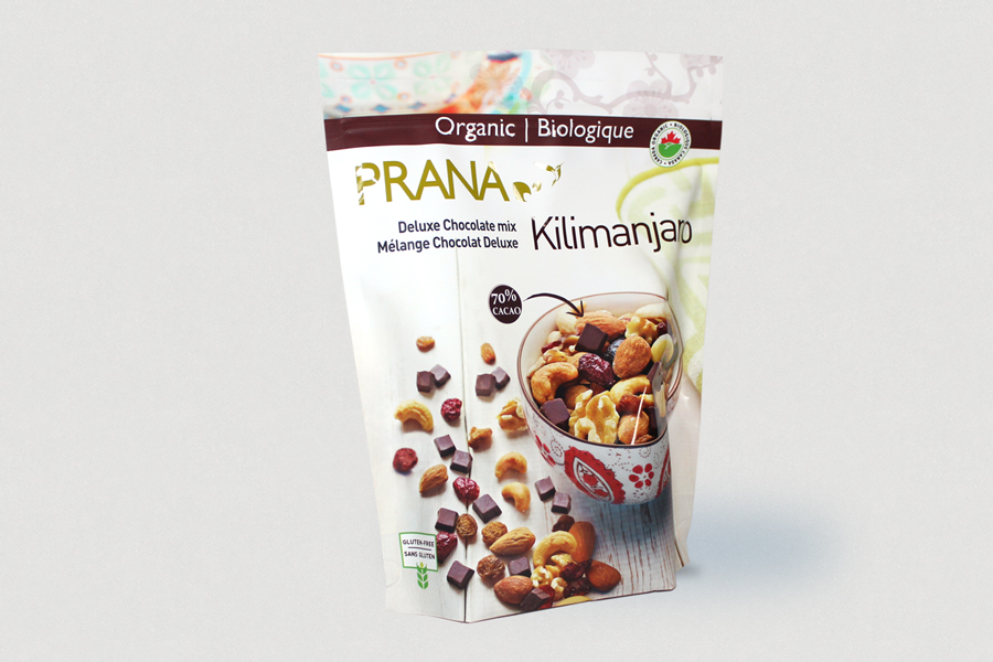 Prana-Chocolat // Stand up pouch