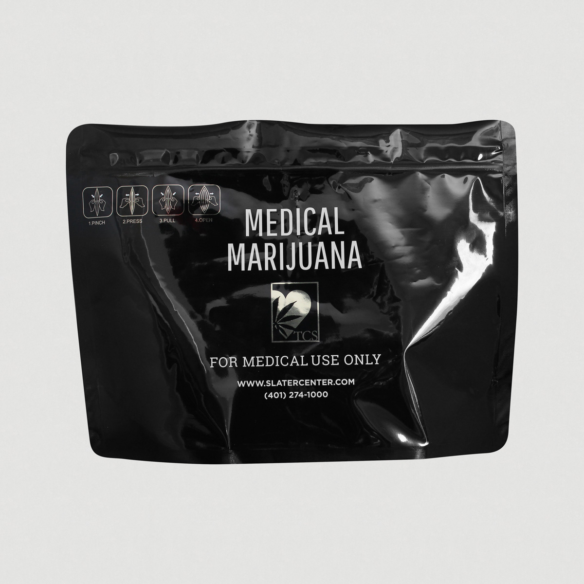 Child resitant Pouch for marijuana
