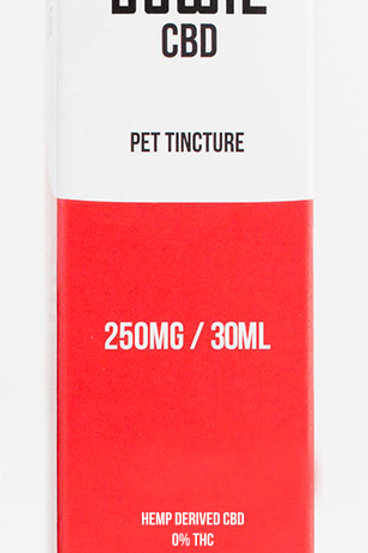 Red Bowie - Pet CBD Tincture - 250mg