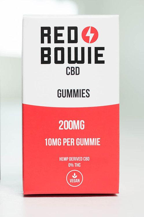Red Bowie - CBD Gummies - 200mg (10mg per)