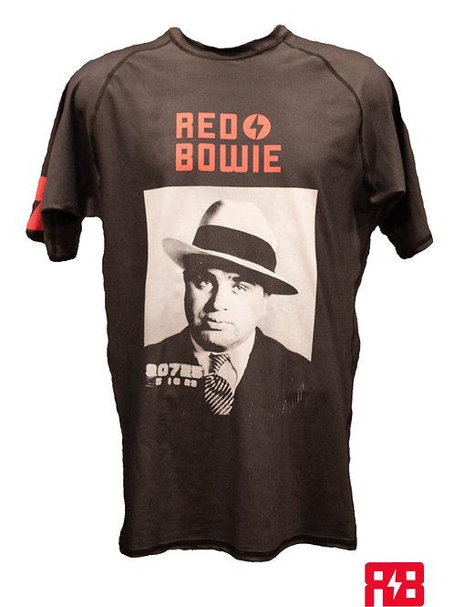 "Red Bowie - ""Capone"" SS Rashguard"