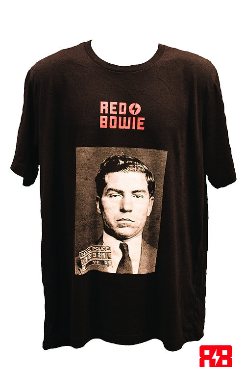 "Red Bowie - ""Lucky Luciano"" T-Shirt"