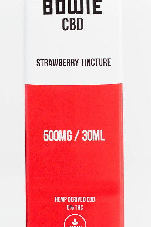 Red Bowie - CBD Strawberry Tincture - 500MG