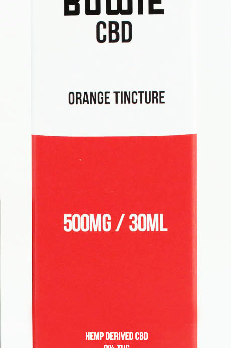 Red Bowie - CBD Orange Tincture - 500MG