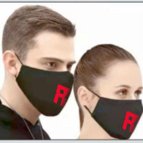 Red Bowie - Unisex Reusable Face Mask