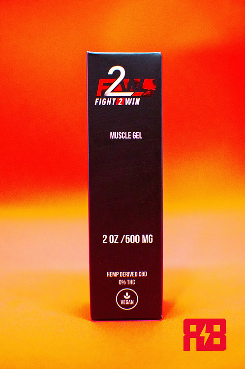 Red Bowie x F2W 500mg Muscle Gel