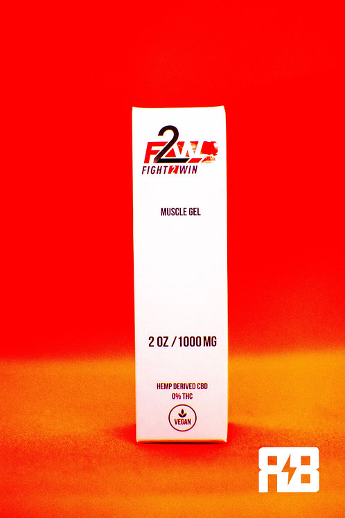 Red Bowie x F2W 1000mg Muscle Gel: Buy TWO, get ONE FREE!