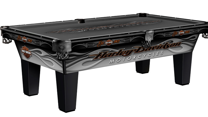 Harley-Davidson Pool Table