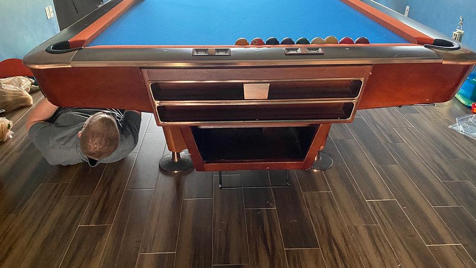 9ft Ball Return Tournament Table