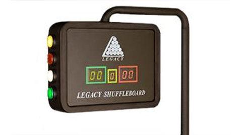 Electronic Shuffleboard Score Unit
