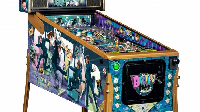 Beatles Gold Pinball