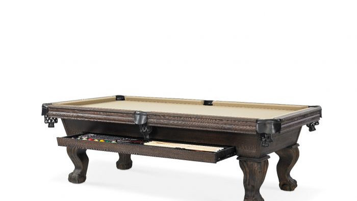 Dixon Pool Table With Drawer