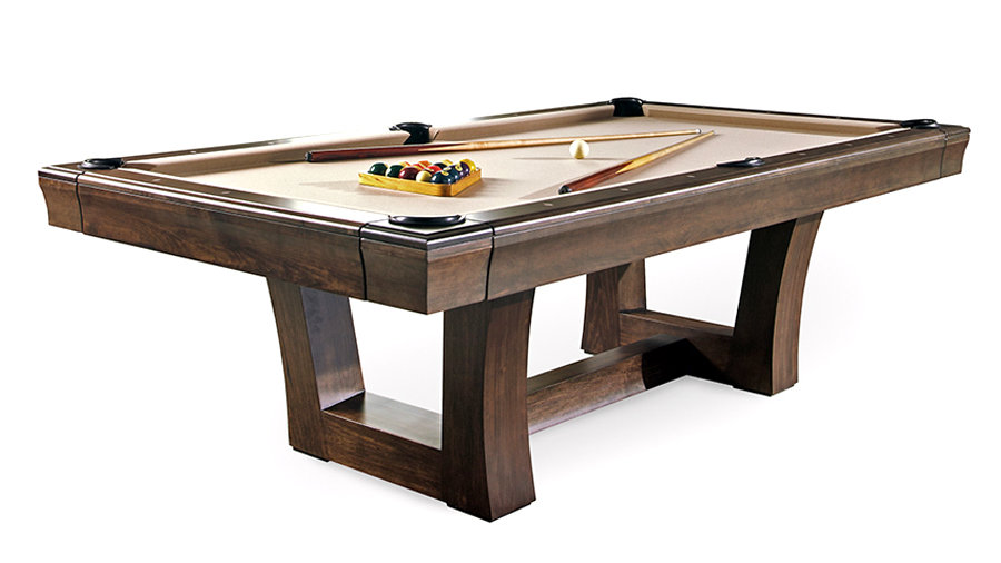 Pro 8' City Pool Table Display