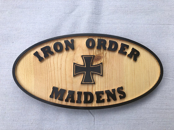 CNC Milled Maiden Oval