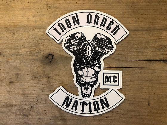 NATION ROCKER MAGNET