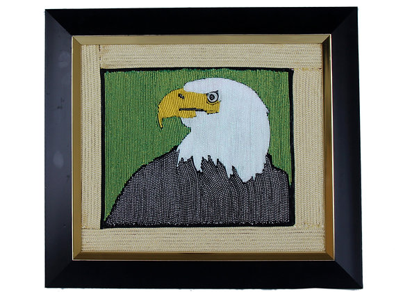 The Eagle (Handmade with unique threads)