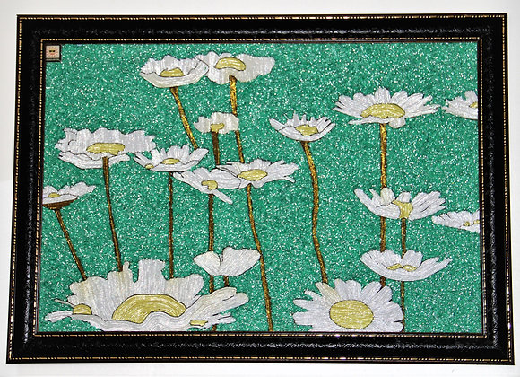 The Flowers (Original handcrafted wall art)