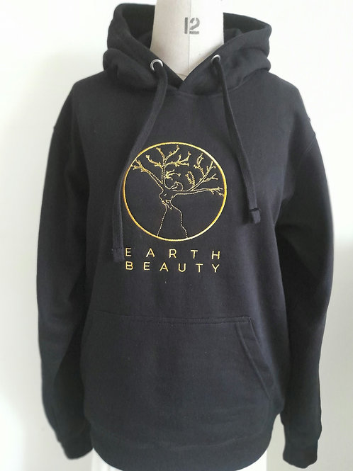 Earth Beauty Unisex Embroidered Hoodie