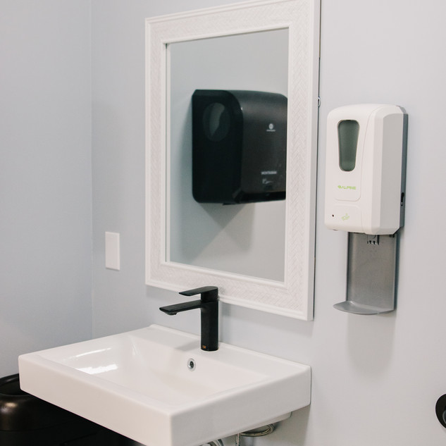 Fully Renovated Restrooms
