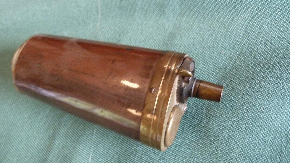 Copper Pistol Flask