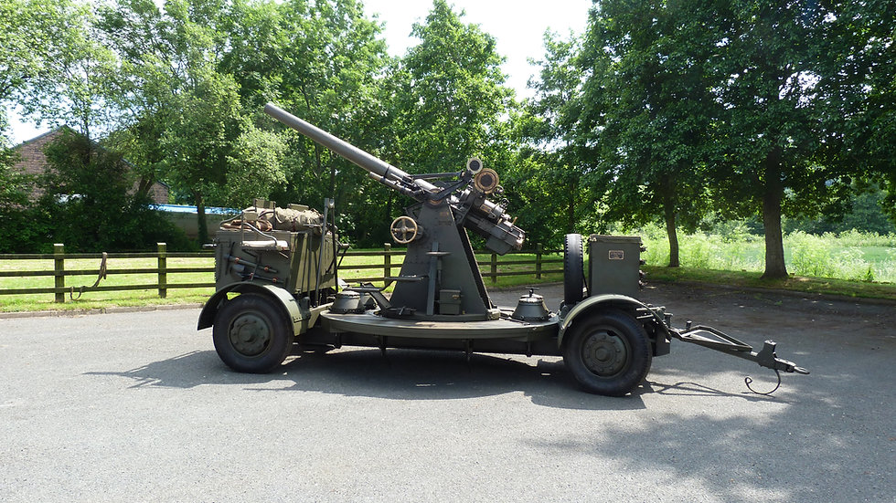 WW1 Anti-Aircraft Gun