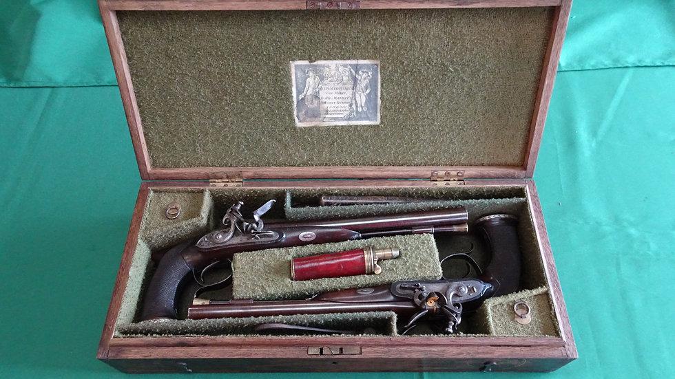 D/B Mortimer pistols