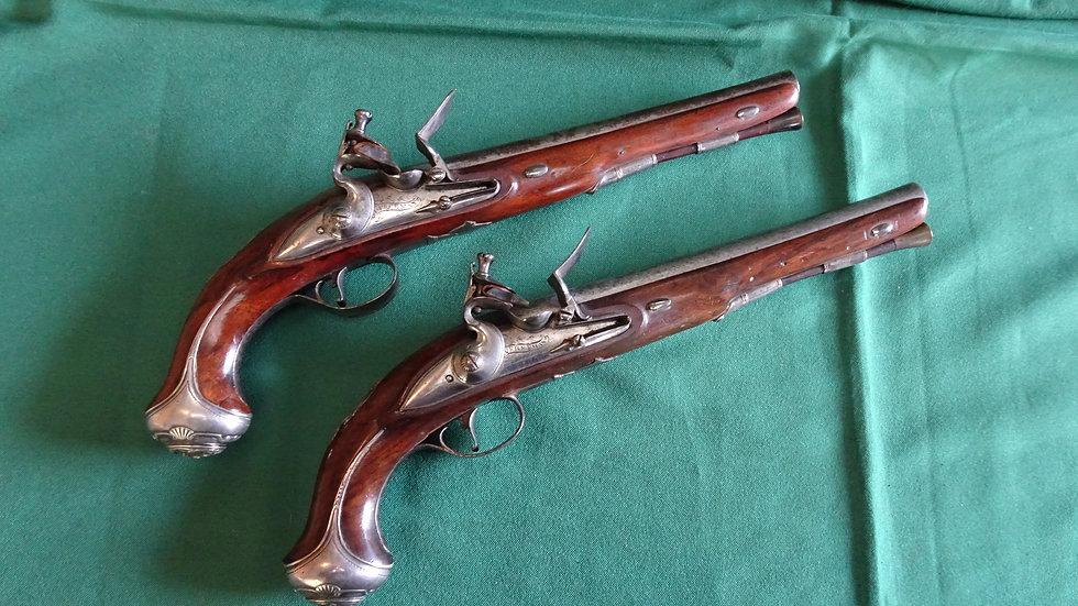Pair of Freeman Pistols