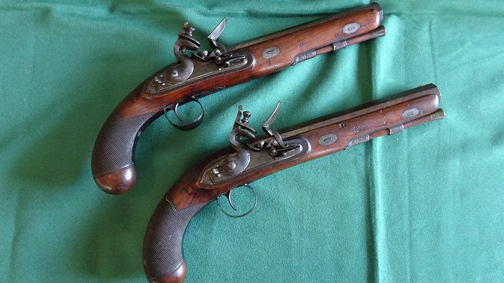 Pair of Sharp Officer's Pistols