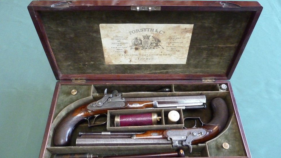 Pair of Forsyth Duelling Pistols
