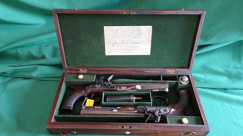 Jones Duelling Pistols